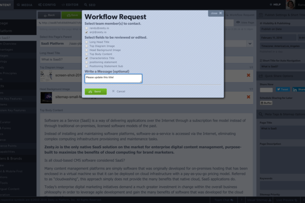 User Roles, Permissions and Approval Workflows Screenshot Example